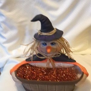 Other - Handmade Ceramic Witch Basket